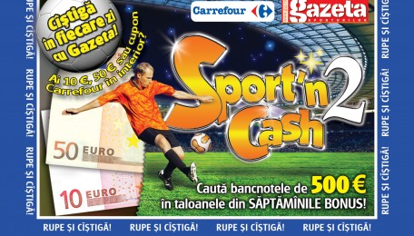Gazeta Sporturilor 'Lucky Wallet' Newspaper Game